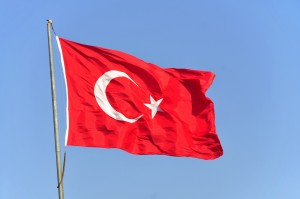 Muslim Turkish Flag