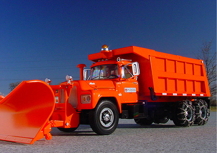Iowa DOT Snowplow
