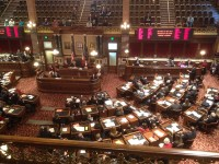 The Iowa Senate opened the 86th General Assembly on Monday morning.