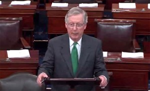 Mitch McConnell Senate Floor