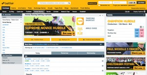Betfair Exchange Wagering