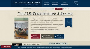 The Constitution Reader Screenshot