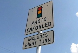 Traffic Cam Sign