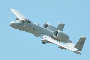 "The U.S. Air Force's A-10 ""Warthog"" is the only fixed wing close air support platform the U.S. military has at its disposal. U.S. Sen. Joni Ernst (R-IA) is fighting efforts to retire the aircraft in the upcoming defense budget. (The Iowa Statesman photo/Bob Eschliman)"