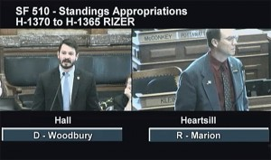 State Rep. Chris Hall (D-Sioux City) attacked state Rep. Greg Heartsill (R-Columbia) during debate on the standing appropriations bill last week after becoming aware that Heartsill was looking into concerns about the Governor's Conference on LGBTQ Youth. Heartsill became concerned after learning some of the presentations made during the conference, which was sponsored by a number of taxpayer-supported entities, may not have been age appropriate.