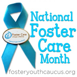 National Foster Care Month Logo