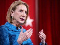 Fiorina reacts to government data breach