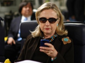 Hillary Clinton Texting