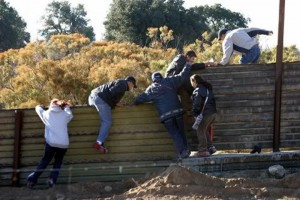 Illegals Crossing US Border