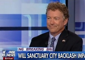 Rand Paul -- FOX Sanctuary Cities