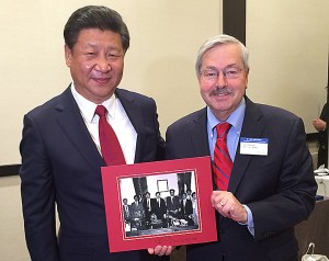 Branstad and President Xi