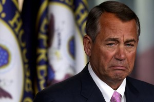 Crying John Boehner