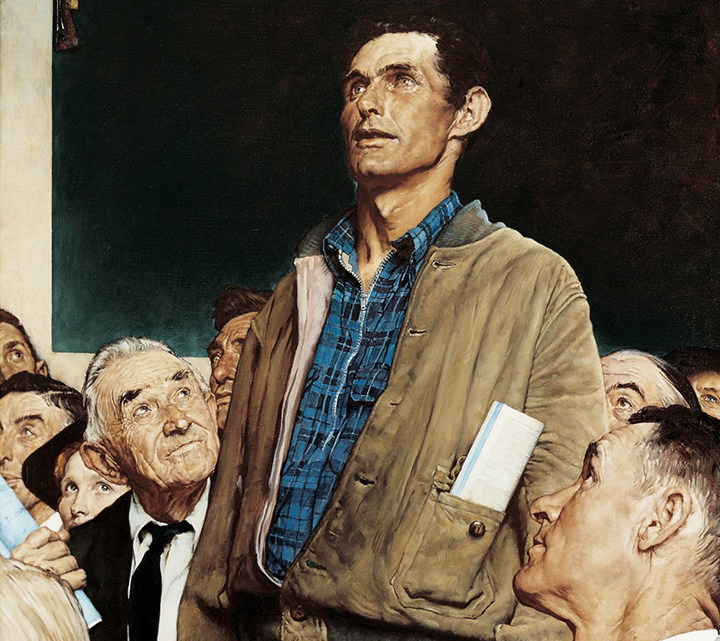 Four Freedoms -- Freedom of Speech