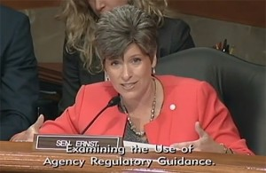 Joni Ernst — Hearing — OSHA Rulemaking