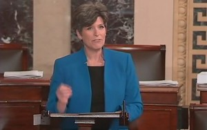 Joni Ernst Floor Speech