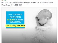 CMP calls out Branstad on defunding Planned Parenthood