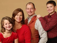 State Sen. Mark Chelgren (R-Ottumwa) and his family.