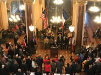 Veterans Gather At Capitol