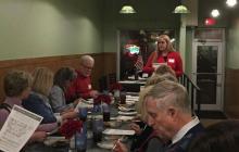 Jenifer Bowen Speaks to members of the Iowa Federation of Republican Women's Polk Chapter.