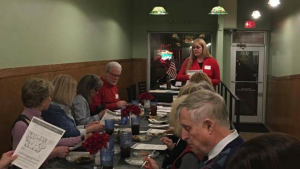 Jenifer Bowen Speaks to members of the Iowa Federation of Republican Women's Polk Chapter.
