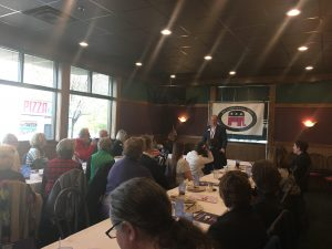 Mayor Corbett speaks to Polk County Republican Women