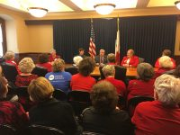 IFRW meets with Governor Branstad and Lieutenant Governor Reynolds
