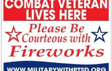 Veterans Do Not Need Special Consideration for Fireworks