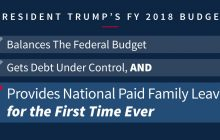 PRESIDENT TRUMP'S BUDGET: The New Foundation for American Greatness